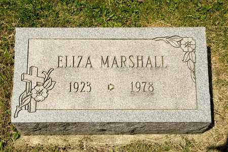 MARSHALL, ELIZA - Richland County, Ohio | ELIZA MARSHALL - Ohio Gravestone Photos
