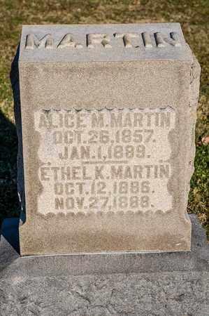 MARTIN, ETHEL K - Richland County, Ohio | ETHEL K MARTIN - Ohio Gravestone Photos