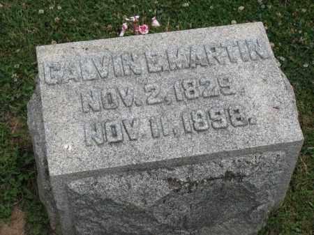 MARTIN, CALVIN E. - Richland County, Ohio | CALVIN E. MARTIN - Ohio Gravestone Photos
