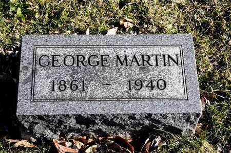 MARTIN, GEORGE - Richland County, Ohio | GEORGE MARTIN - Ohio Gravestone Photos