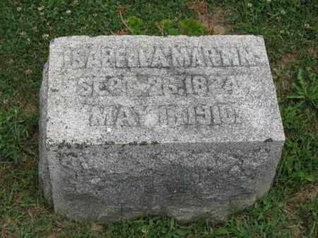 MARTIN, ISABELLA - Richland County, Ohio | ISABELLA MARTIN - Ohio Gravestone Photos