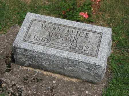 MARTIN, MARY ALICE - Richland County, Ohio   MARY ALICE MARTIN - Ohio Gravestone Photos