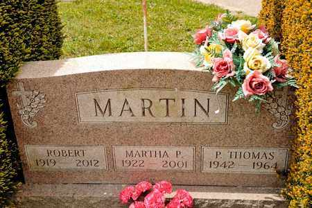 MARTIN, MARTHA P - Richland County, Ohio | MARTHA P MARTIN - Ohio Gravestone Photos