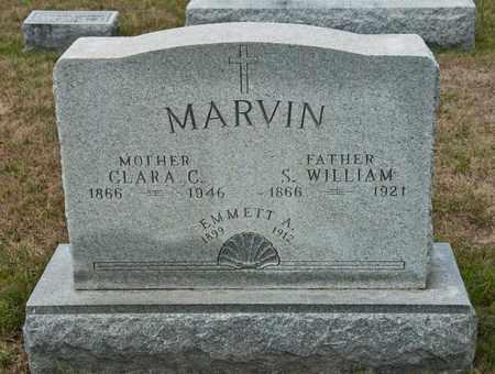 MARVIN, S WILLIAM - Richland County, Ohio | S WILLIAM MARVIN - Ohio Gravestone Photos