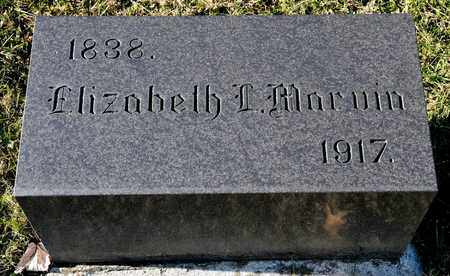 MARVIN, ELIZABETH L - Richland County, Ohio | ELIZABETH L MARVIN - Ohio Gravestone Photos
