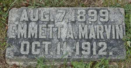 MARVIN, EMMETT A - Richland County, Ohio | EMMETT A MARVIN - Ohio Gravestone Photos