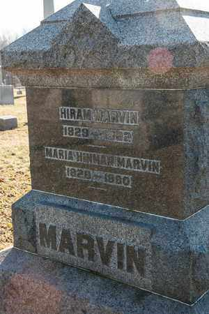 HINMAN MARVIN, MARIA - Richland County, Ohio | MARIA HINMAN MARVIN - Ohio Gravestone Photos