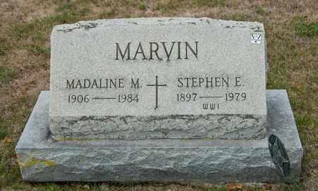 MARVIN, STEPHEN E - Richland County, Ohio   STEPHEN E MARVIN - Ohio Gravestone Photos