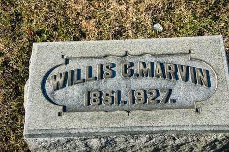 MARVIN, WILLIS C - Richland County, Ohio   WILLIS C MARVIN - Ohio Gravestone Photos