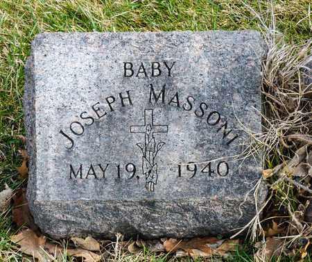 MASSONI, JOSEPH - Richland County, Ohio   JOSEPH MASSONI - Ohio Gravestone Photos