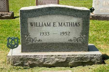 MATHIAS, WILLIAM E - Richland County, Ohio   WILLIAM E MATHIAS - Ohio Gravestone Photos
