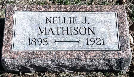 MATHISON, NELLIE J - Richland County, Ohio | NELLIE J MATHISON - Ohio Gravestone Photos