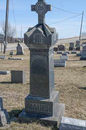 MAUCH, JOHN EDWARD - Richland County, Ohio   JOHN EDWARD MAUCH - Ohio Gravestone Photos