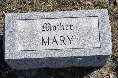 "MAUCH, MARIE ""MARY"" - Richland County, Ohio | MARIE ""MARY"" MAUCH - Ohio Gravestone Photos"