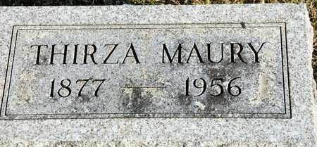 MAURY, THIRZA - Richland County, Ohio | THIRZA MAURY - Ohio Gravestone Photos