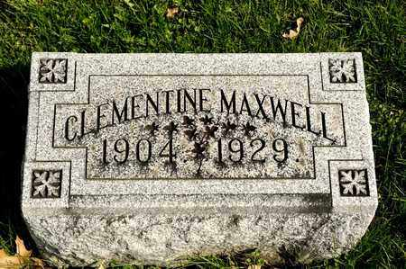 MAXWELL, CLEMENTINE - Richland County, Ohio | CLEMENTINE MAXWELL - Ohio Gravestone Photos