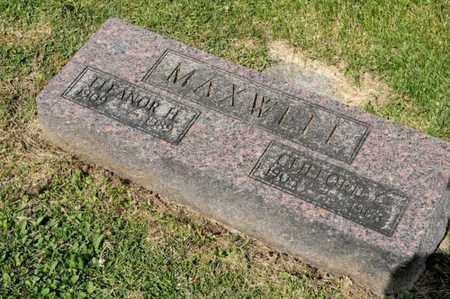 MAXWELL, ELEANOR H - Richland County, Ohio | ELEANOR H MAXWELL - Ohio Gravestone Photos