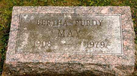 MAY, BERTHA - Richland County, Ohio | BERTHA MAY - Ohio Gravestone Photos