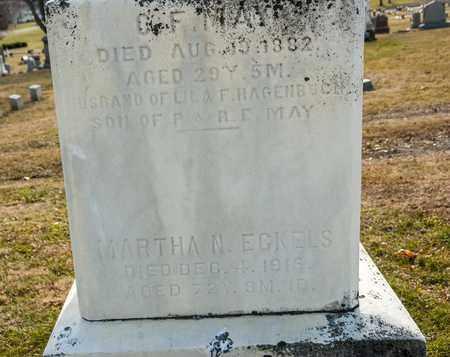 ECKELS, MARTHA N - Richland County, Ohio | MARTHA N ECKELS - Ohio Gravestone Photos