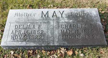 MAY, CHARLES F - Richland County, Ohio | CHARLES F MAY - Ohio Gravestone Photos