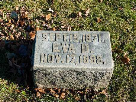MAY, EVA D - Richland County, Ohio   EVA D MAY - Ohio Gravestone Photos