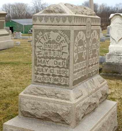 MAY, HATTIE BELL - Richland County, Ohio   HATTIE BELL MAY - Ohio Gravestone Photos
