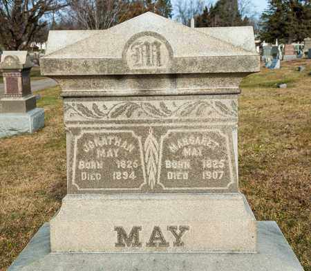 MAY, JONATHAN - Richland County, Ohio | JONATHAN MAY - Ohio Gravestone Photos