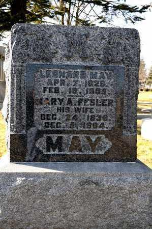 MAY, MARY A - Richland County, Ohio | MARY A MAY - Ohio Gravestone Photos