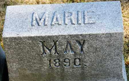 MAY, MARIE - Richland County, Ohio | MARIE MAY - Ohio Gravestone Photos