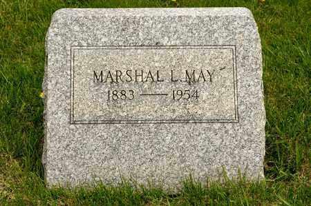 MAY, MARSHAL L - Richland County, Ohio   MARSHAL L MAY - Ohio Gravestone Photos
