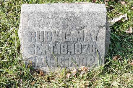 MAY, RUBY G - Richland County, Ohio | RUBY G MAY - Ohio Gravestone Photos