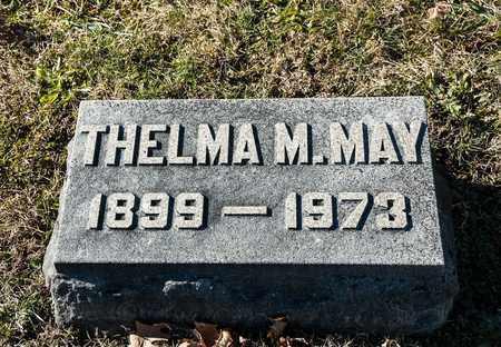 MAY, THELMA M - Richland County, Ohio   THELMA M MAY - Ohio Gravestone Photos
