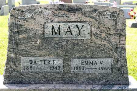 MAY, EMMA V - Richland County, Ohio | EMMA V MAY - Ohio Gravestone Photos