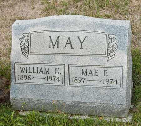 MAY, MAE F - Richland County, Ohio | MAE F MAY - Ohio Gravestone Photos