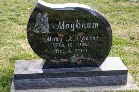 MAYBAUM, MARY A - Richland County, Ohio | MARY A MAYBAUM - Ohio Gravestone Photos
