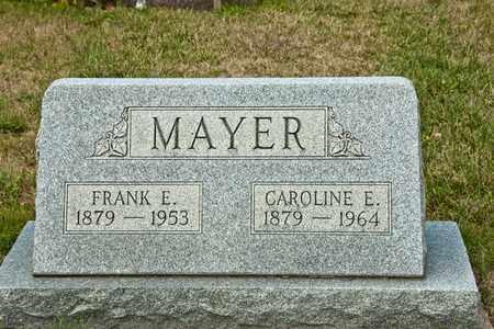 MAYER, CAROLINE E - Richland County, Ohio | CAROLINE E MAYER - Ohio Gravestone Photos