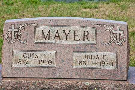 MAYER, JULIA E - Richland County, Ohio | JULIA E MAYER - Ohio Gravestone Photos