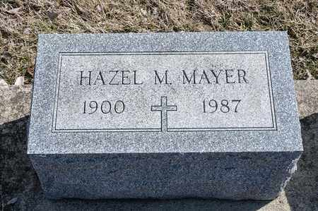 MAYER, HAZEL M - Richland County, Ohio | HAZEL M MAYER - Ohio Gravestone Photos