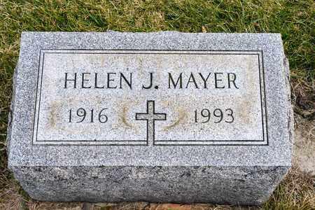 MAYER, HELEN J - Richland County, Ohio   HELEN J MAYER - Ohio Gravestone Photos