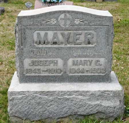 MAYER, JOSEPH - Richland County, Ohio | JOSEPH MAYER - Ohio Gravestone Photos