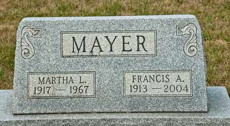 MAYER, FRANCIS A - Richland County, Ohio | FRANCIS A MAYER - Ohio Gravestone Photos