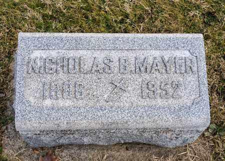 MAYER, NICHOLAS B - Richland County, Ohio   NICHOLAS B MAYER - Ohio Gravestone Photos