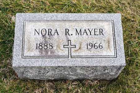 MAYER, NORA R - Richland County, Ohio | NORA R MAYER - Ohio Gravestone Photos
