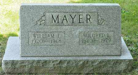 MAYER, WILLIAM F - Richland County, Ohio | WILLIAM F MAYER - Ohio Gravestone Photos