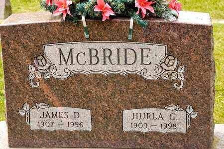 MCBRIDE, JAMES D - Richland County, Ohio | JAMES D MCBRIDE - Ohio Gravestone Photos