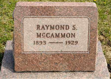MCCAMMON, RAYMOND S - Richland County, Ohio | RAYMOND S MCCAMMON - Ohio Gravestone Photos