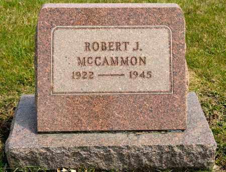 MCCAMMON, ROBERT J - Richland County, Ohio | ROBERT J MCCAMMON - Ohio Gravestone Photos