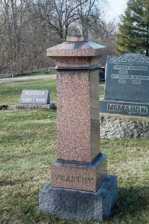 MCCARTHY, J M - Richland County, Ohio | J M MCCARTHY - Ohio Gravestone Photos