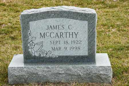 MCCARTHY, JAMES C - Richland County, Ohio | JAMES C MCCARTHY - Ohio Gravestone Photos