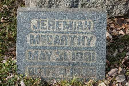 MCCARTHY, JEREMIAH - Richland County, Ohio | JEREMIAH MCCARTHY - Ohio Gravestone Photos